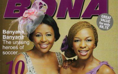 Bona Magazine – Bassie and Zama Ngcobo